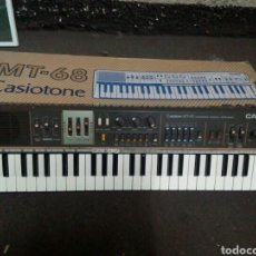 Instrumentos musicales: TECLADO CASIOTONE. MT - 68. CASIO. VINTAGE.. Lote 103319544