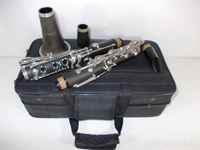 Instrumentos musicales: ANTIGUO CLARINETE EN ESTUCHE ORIGINAL - Foto 3 - 103516203