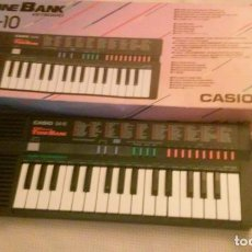 Instrumentos musicales: ORGANO TECLADO PIANO ELECTRONICO - CASIO SA-10 - JAPAN -FUNCIONANDO-. Lote 104200891