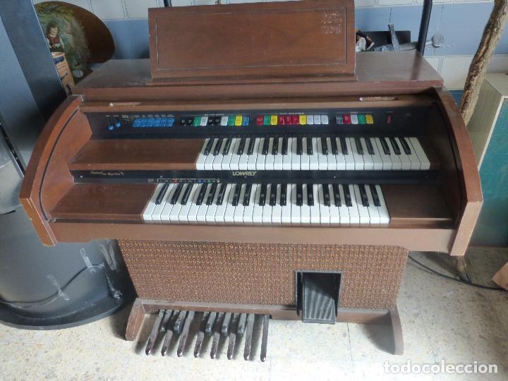 ANTIGUO ÓRGANO LOWREY FESTIVAL WITH MAGIC GENIE - FUNCIONANDO CON EXCELENTE SONIDO-ORIGINAL AÑOS 60 (Música - Instrumentos Musicales - Pianos Antiguos)