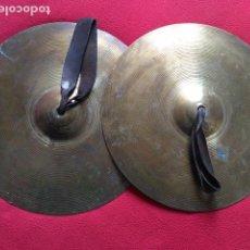 Instrumentos musicales - ANTIGUOS PLATILLOS DE BANDA DE MUSICA ROBERT MARTIN - 111343318