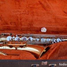 Instrumentos musicales: SAXO TENOR YANAGISAWA ELIMONA T800.. Lote 104575435