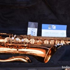 Instrumentos musicales: BUFFET-TENOR-SAXOPHONE-SERIES-400-DEMO-VERY-GOOD-CONDITION BUFFET-TENOR-SAXOPHONE-SERIES-400-DEMO-. Lote 104576739