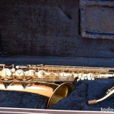 Instrumentos musicales: SAXO TENOR EN SI BEMOL.AMATI KRASLYCE.. Lote 104584027