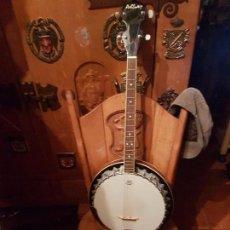 Instrumentos musicales: BONITO BANJO DE LA MARCA ASBBURY.. Lote 104893763