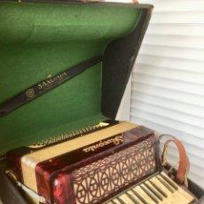 Instrumentos musicales: ACORDEÓN ANTIGUO SAXONIA. Lote 105017720