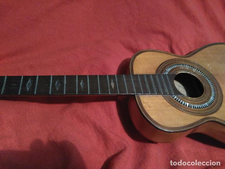 Instrumentos musicales: IMPORTANTE MAGNIFICA GUITARRA SIGLO XIX SENTCHORDI I HERMANOS PRECIO 3998 EUROS DE MUSEO FUNCIONAL - Foto 11 - 105122763
