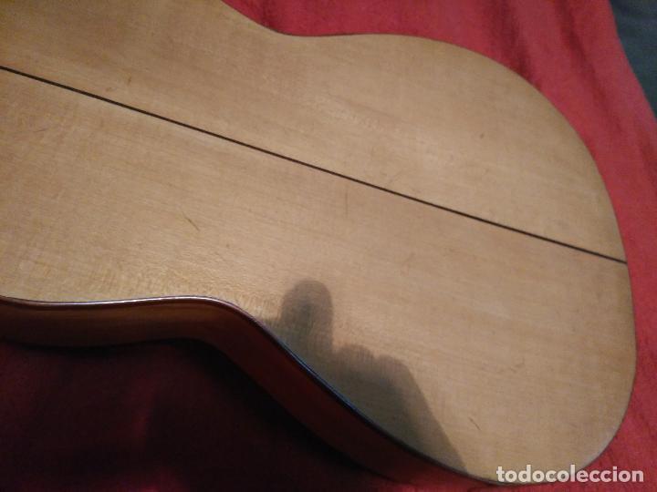 Instrumentos musicales: IMPORTANTE MAGNIFICA GUITARRA SIGLO XIX SENTCHORDI I HERMANOS PRECIO 3998 EUROS DE MUSEO FUNCIONAL - Foto 14 - 105122763