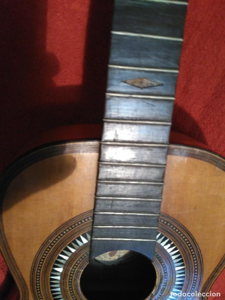Instrumentos musicales: IMPORTANTE MAGNIFICA GUITARRA SIGLO XIX SENTCHORDI I HERMANOS PRECIO 3998 EUROS DE MUSEO FUNCIONAL - Foto 21 - 105122763