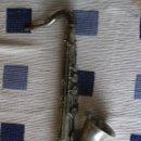 Instrumentos musicales: SAXOFON TENOR PLATEADO ROMEO ORSI MILANO SAXO HECHO EN ITALIA.. Lote 105265023