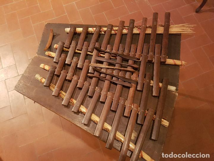 Instrumentos musicales: Xilofono de madera portatil - Foto 3 - 105425343