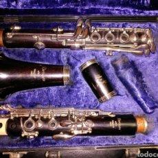 Instrumentos musicales: CLARINETE DE MADERA MARIGAUX. Lote 99210136