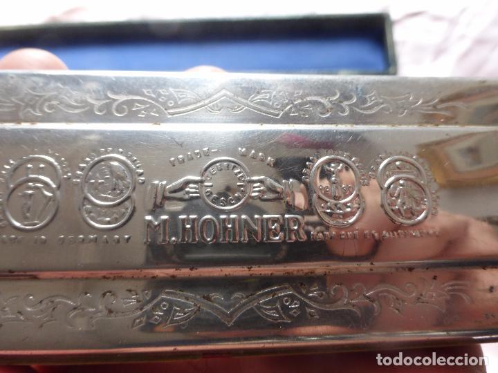 Instrumentos musicales: ANTIGUA ARMÓNICA GRAN TAMAÑO MARINE BAND ECHO.TREMOLO.M HOHNER.G C A D.151/2 EN SU ESTUCHE ORIGINAL- - Foto 11 - 106704791