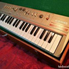 Instrumentos musicales: TECLADO ORGANO CASIO MT 46 CASIOTONE,,CON MALETIN MADERA Y MANUALES INSTRUCCIONES. Lote 106994167