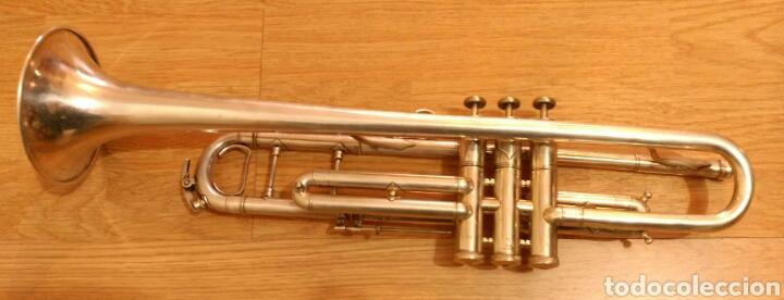 Instrumentos musicales: Trompeta Sib Do plata - Foto 4 - 107483518