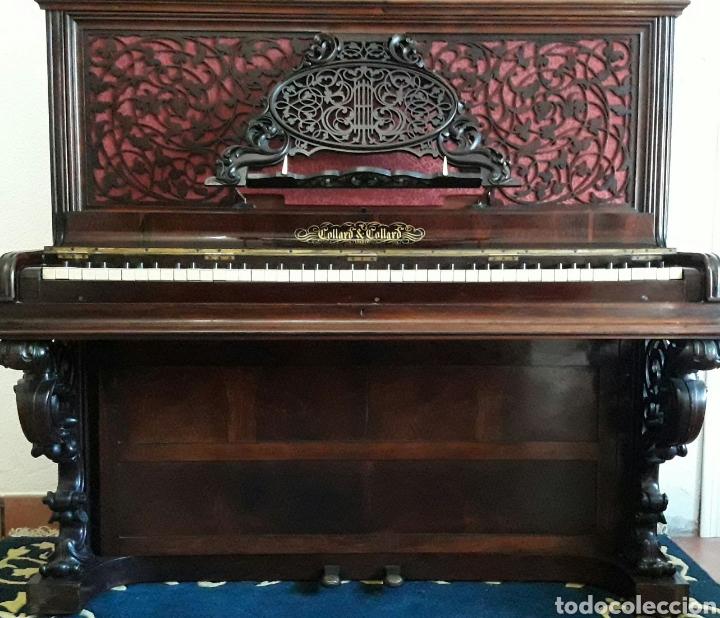 Instrumentos musicales: Piano Collard & Collard de mediados del siglo XIX - Foto 2 - 107631420
