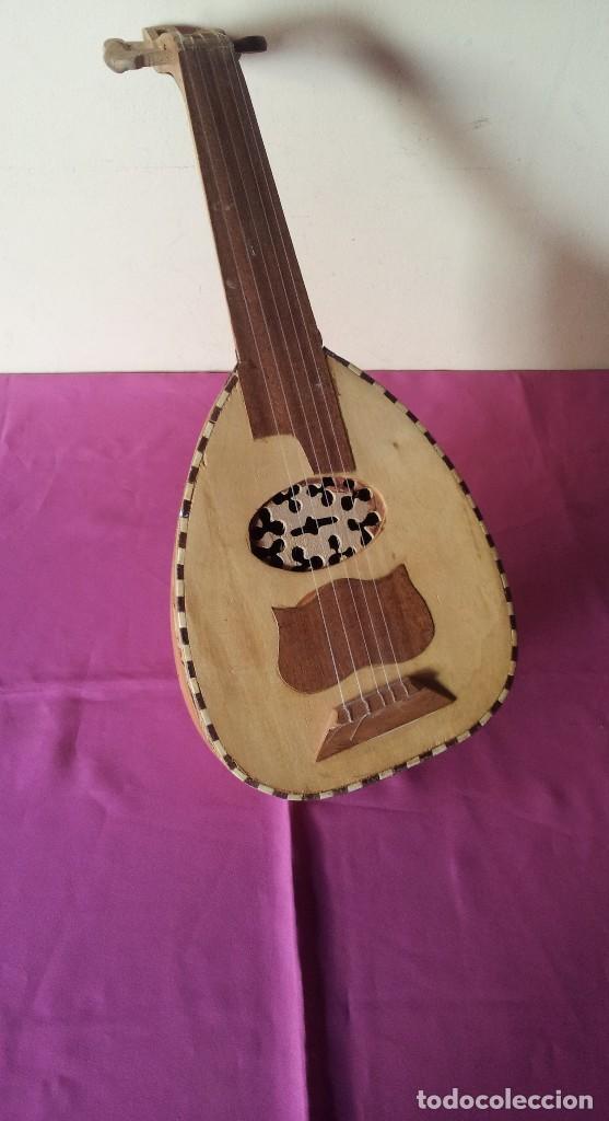 LAUD ARABE CINCO CUERDAS (Música - Instrumentos Musicales - Cuerda Antiguos)