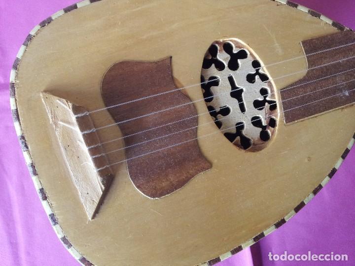 Instrumentos musicales: LAUD ARABE CINCO CUERDAS - Foto 3 - 107837299