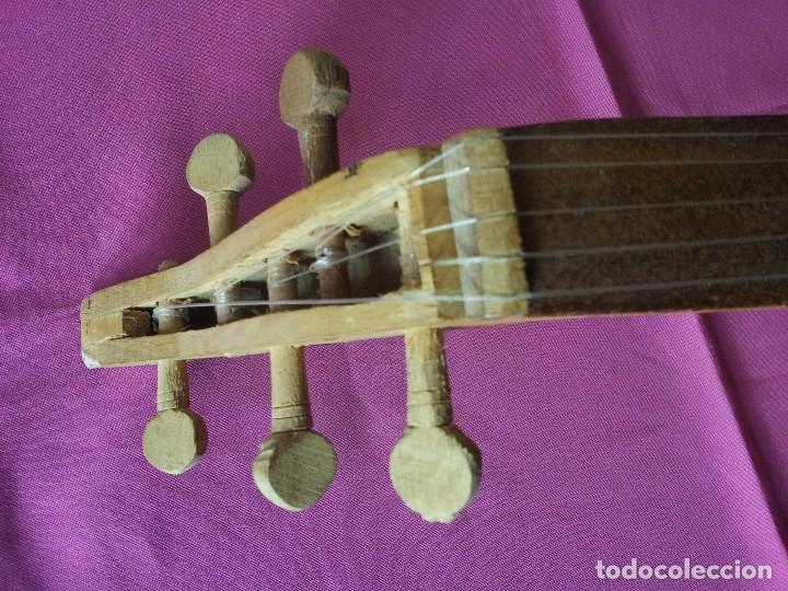 Instrumentos musicales: LAUD ARABE CINCO CUERDAS - Foto 4 - 107837299