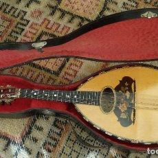 Instrumentos musicales: MANDOLINA 1906 LOUIS HURY. Lote 208420876