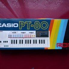 Instrumentos musicales: CASIO PT-80 CON CAJA E INSTRUCCIONES. Lote 108321358