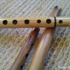 Instrumentos musicales: FLAUTA QUENA HECHAS A MANO POR LUTHIER. Lote 109290599