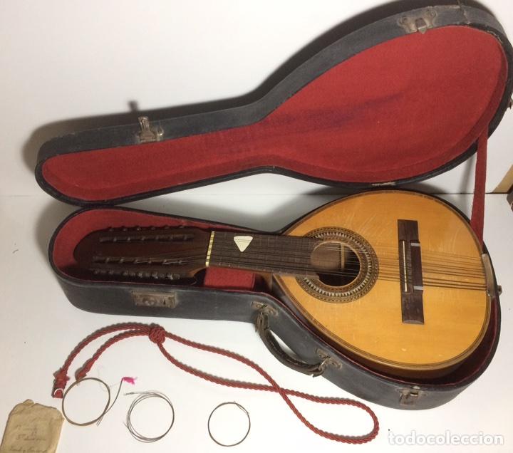 ANTIGUA BANDURRIA TELESFORO JULVE (Música - Instrumentos Musicales - Guitarras Antiguas)