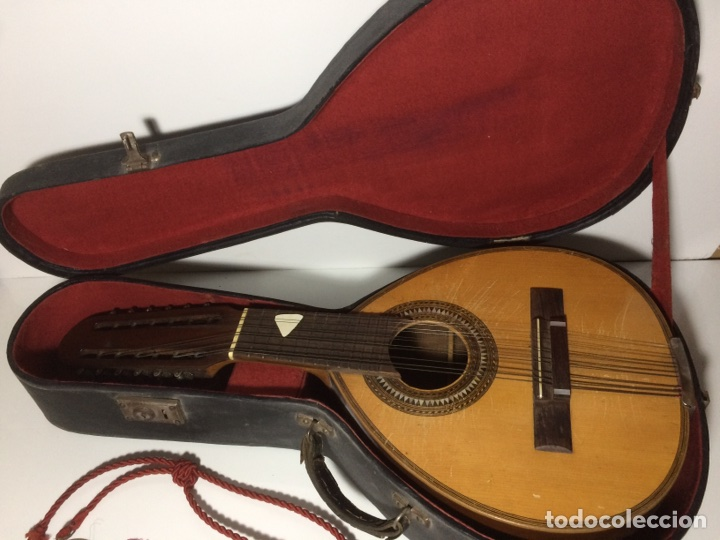 Instrumentos musicales: Antigua Bandurria Telesforo Julve - Foto 2 - 109910731