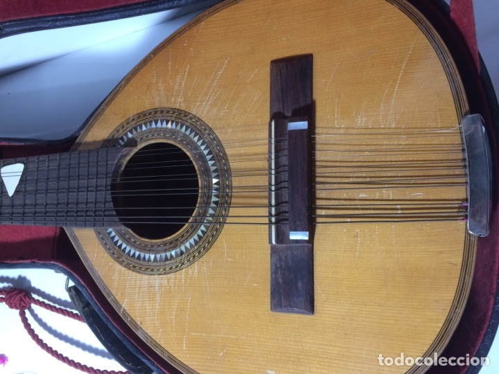 Instrumentos musicales: Antigua Bandurria Telesforo Julve - Foto 3 - 109910731
