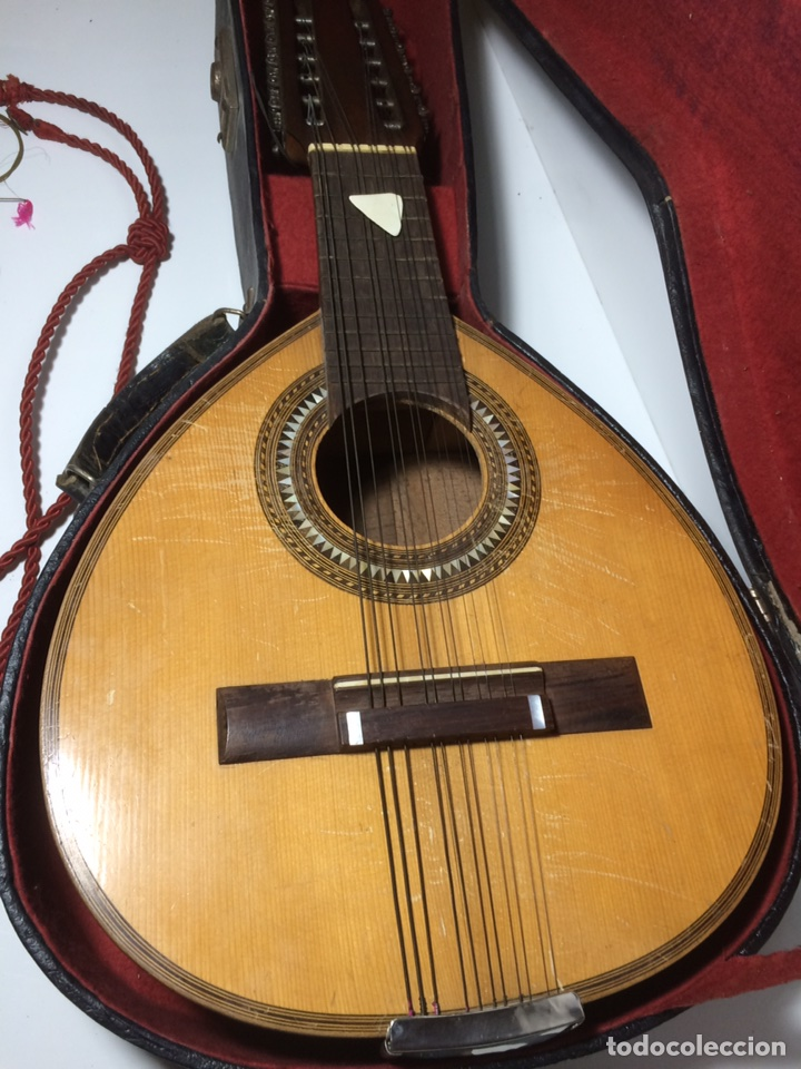 Instrumentos musicales: Antigua Bandurria Telesforo Julve - Foto 12 - 109910731
