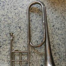 Instrumentos musicales: TROMPETA O TROMPA MARCA BOHLAND&FUCHS. Lote 110097870