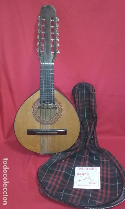 ANTIGUA BANDURRIA (JUAN ESTRUCH) AÑOS 60/70 ADMITO OFERTAS (Música - Instrumentos Musicales - Cuerda Antiguos)