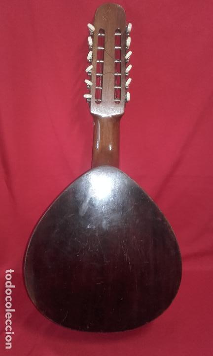 Instrumentos musicales: Antigua Bandurria (Juan Estruch) años 60/70 ADMITO OFERTAS - Foto 2 - 110611179