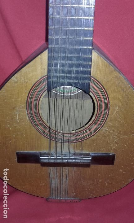 Instrumentos musicales: Antigua Bandurria (Juan Estruch) años 60/70 ADMITO OFERTAS - Foto 3 - 110611179