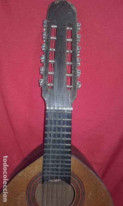 Instrumentos musicales: Antigua Bandurria (Juan Estruch) años 60/70 ADMITO OFERTAS - Foto 4 - 110611179