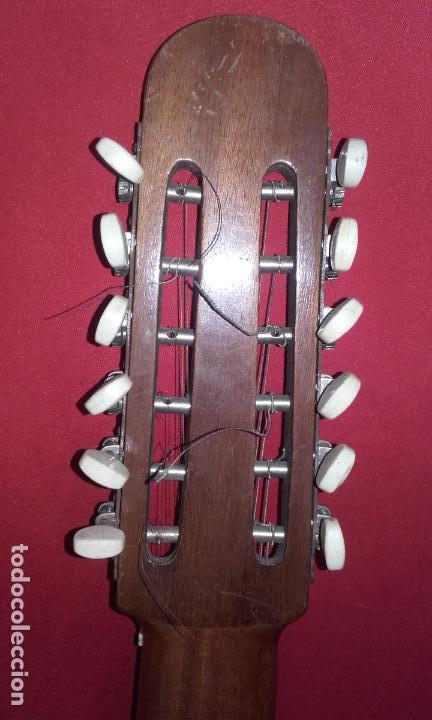 Instrumentos musicales: Antigua Bandurria (Juan Estruch) años 60/70 ADMITO OFERTAS - Foto 5 - 110611179