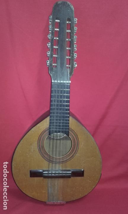 Instrumentos musicales: Antigua Bandurria (Juan Estruch) años 60/70 ADMITO OFERTAS - Foto 7 - 110611179