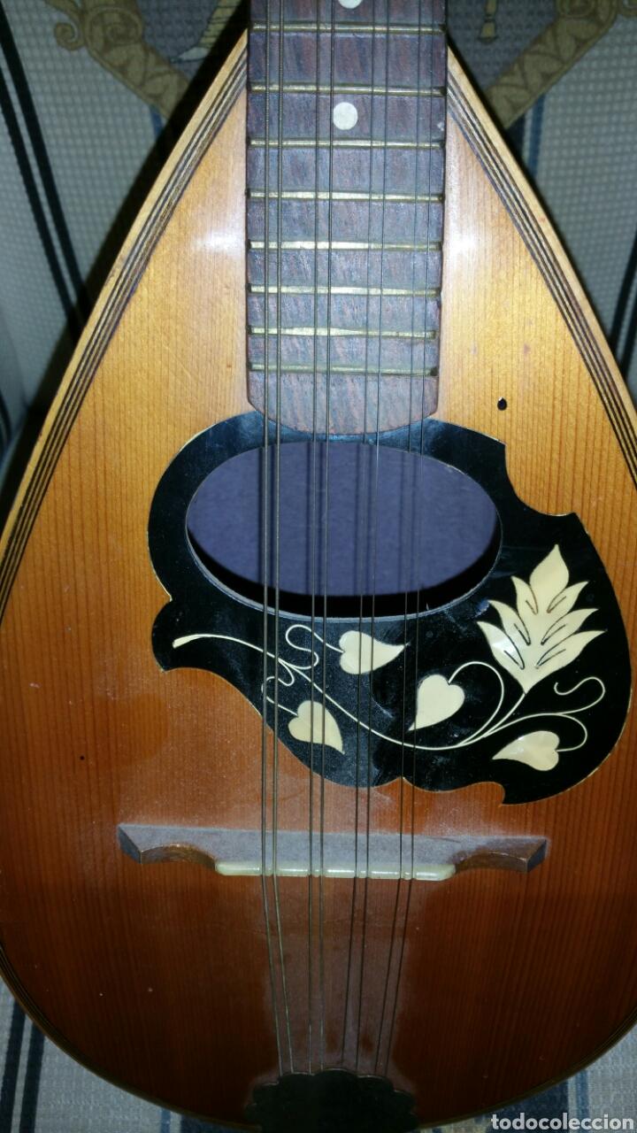 Instrumentos musicales: Mandolina de gran calidad de maderas y marquetería - Foto 3 - 110648156