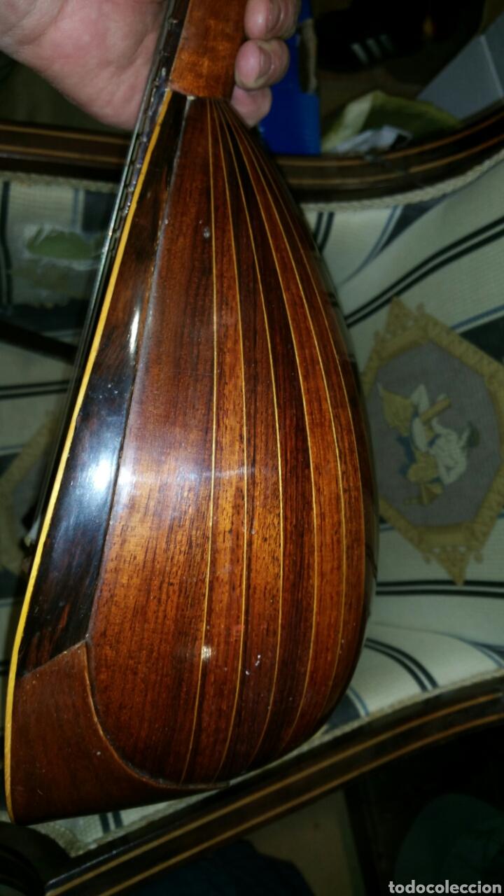 Instrumentos musicales: Mandolina de gran calidad de maderas y marquetería - Foto 6 - 110648156