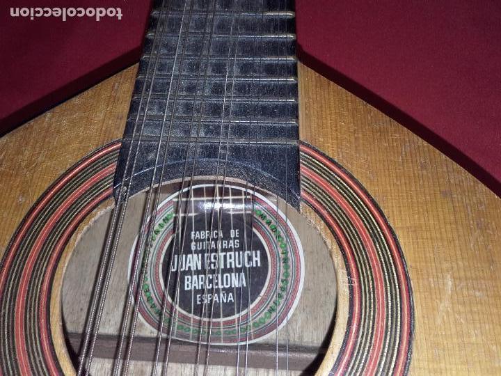 Instrumentos musicales: Antigua Bandurria (Juan Estruch) años 60/70 ADMITO OFERTAS - Foto 8 - 110611179