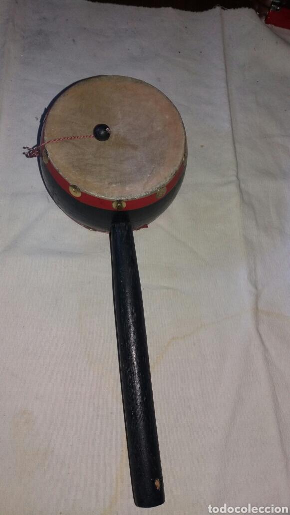 ANTIGUO INSTRUMENTO ARTESANAL DE PERCUSIÓN (Música - Instrumentos Musicales - Percusión)