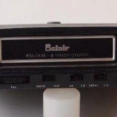Instrumentos musicales: REPRODUCTOR CARTUCHOS 6 PISTAS CON RADIO MARCA BELAIR. Lote 111704339