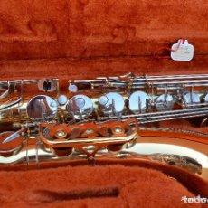 Instrumentos musicales: SAXO TENOR YANAGISAWA ELIMONA T800.. Lote 111774091