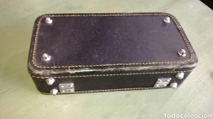 Instrumentos musicales: Caja de clarinete con terciopelo rojo - Foto 5 - 111852890