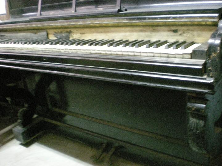 Instrumentos musicales: PIANO ANTIGUO DE PARED S. XIX - Foto 4 - 112155427