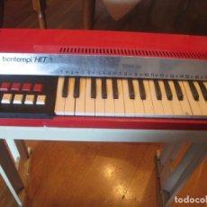 Instrumentos musicales: ÓRGANO BONTEMPI 1 VIENTO ELÉCTRICO MADE IN ITALY VINTAGE. Lote 112224251