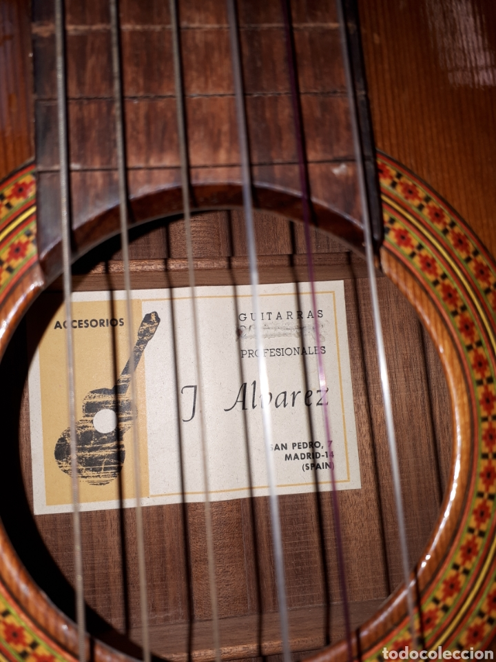 Instrumentos musicales: Guitarra alvarez - Foto 8 - 112357235