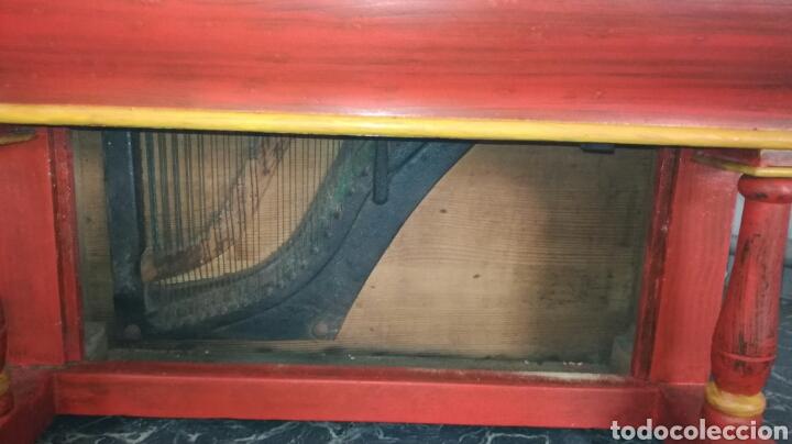 Instrumentos musicales: Organillo de musica español ,firmado por vicente linares JYC/ - Foto 6 - 112680270