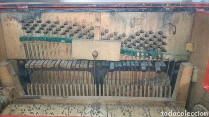 Instrumentos musicales: Organillo de musica español ,firmado por vicente linares JYC/ - Foto 7 - 112680270