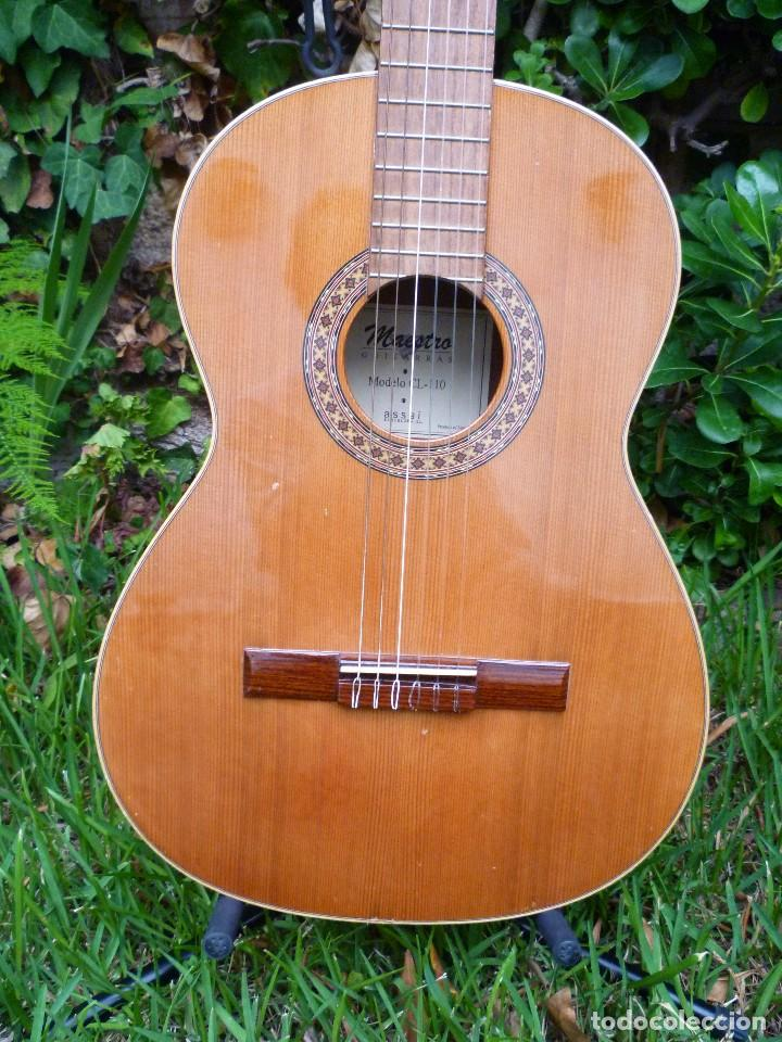 Instrumentos musicales: Guitarra clásica antigua Maestro Assai modelo CL 110 - Foto 2 - 112700699